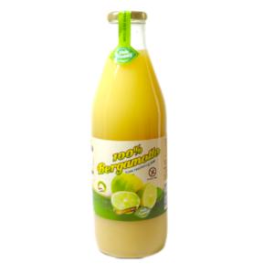 Puro succo di bergamotto al 100% senza zuccheri aggiunti (6 bottiglie da 1 litro)