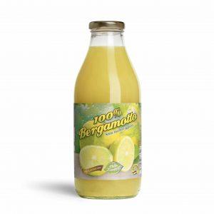 Puro succo di bergamotto al 100% senza zuccheri 750ml Conf. 12 Pz.