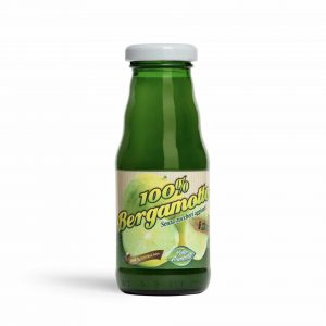 Succo spremuta di bergamotto calabrese BIO 100% puro (24 Bottiglie da 200 ml)