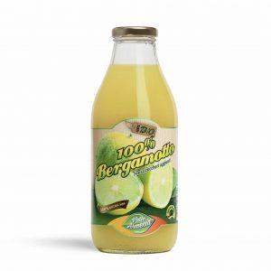 Puro succo di bergamotto biologico al 100% senza zuccheri 750ml Conf. 6 Pz.