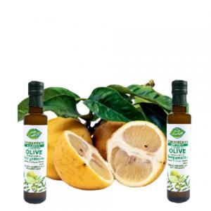 Olio d'oliva biologico aromatizzato al bergamotto da 250ml
